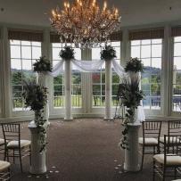 Custom Backdrop and Ceremony Design